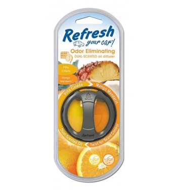 Refresh Dual Scented Oil Diffuser Vent Clip
