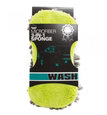 Zwipes Car Wash Sponge 3-in-1