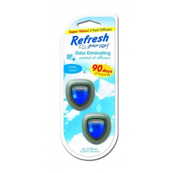Refresh Mini Diffuser Vent Clip (2-Pack)