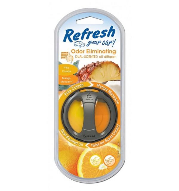 Refresh Dual Scented Oil Diffuser Vent Clip