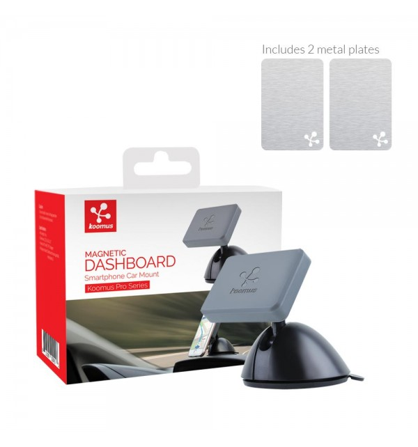 Koomus Magnetic Dashboard Smartphone Mount